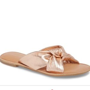 New Jeffrey Campbell Zocalo Rose Gold Sandals